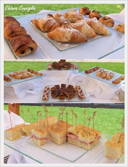 collage colazione