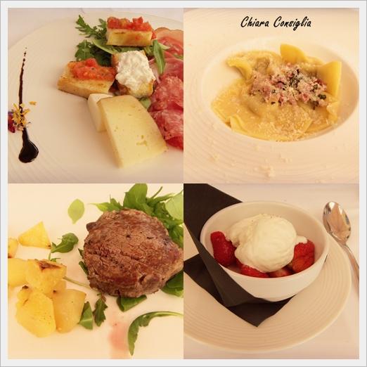 collage ristorante
