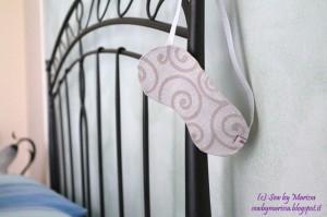 La foto del giorno: La mascherina per la notte di Marissa
