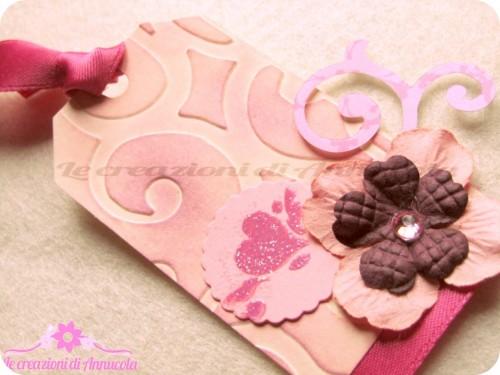 La foto del giorno: la tag rosa di Anna