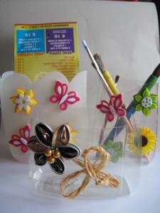 La foto del giorno: contenitori porta penne riciclosi di Barbara