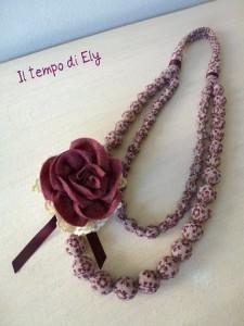 La foto del giorno: la collana provenzale di Elisa