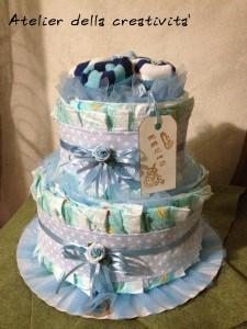 La foto del giorno: la torta pannolini di Liliam
