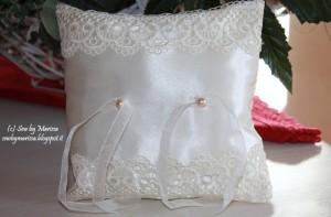 La foto del giorno: il cuscino porta fedi di Marissa
