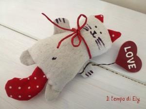 La foto del giorno: il gatto Valentino di Elisa