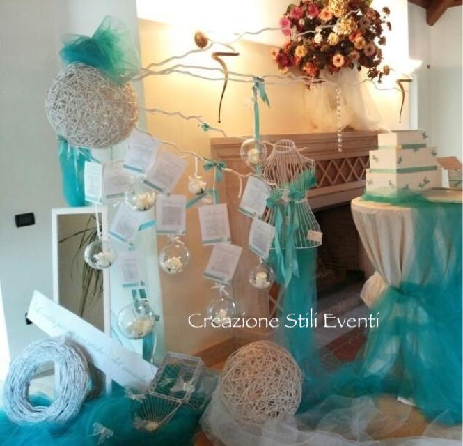 Partecipazioni Matrimonio Azzurro Tiffany : La foto del giorno l allestimento tiffany di creazione