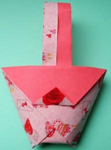 I vostri tutorial: il cestino in origami