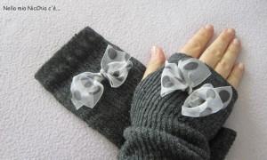 La foto del giorno: da calzini a guantini. L'idea di Francesca