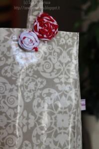 La foto del giorno: la shopping bag in tela cerata di Marissa