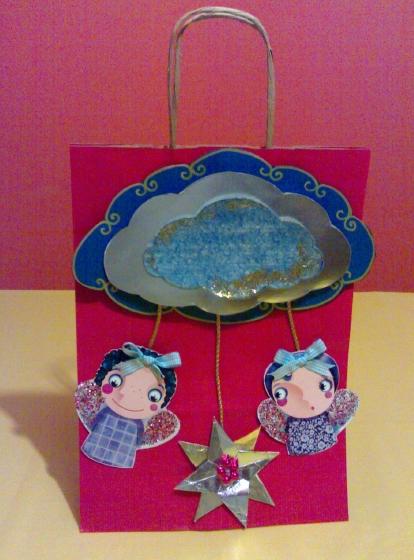 La foto del giorno: la borsa natalizia personalizzata da Gabriella