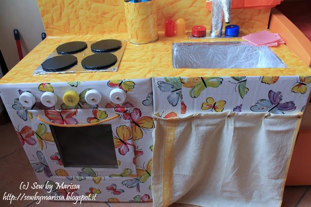 I vostri tutorial: Come realizzare una cucina gioco per bambini