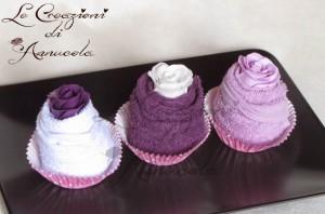 La foto del giorno: cupcake salvietta con saponetta profumata di Anna