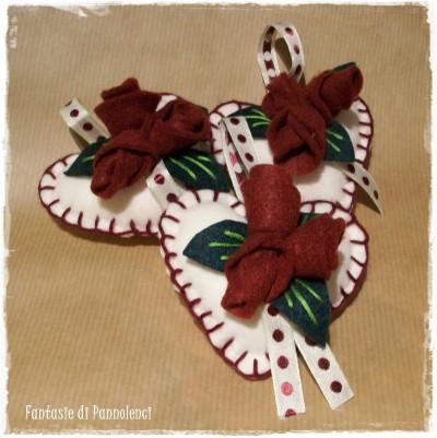 La foto del giorno: cuoricini decorativi per San Valentino