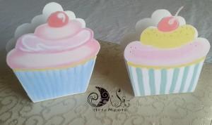 """La foto del giorno: le scatoline """"Cupcakes""""porta confetti di Dilù Artemente"""
