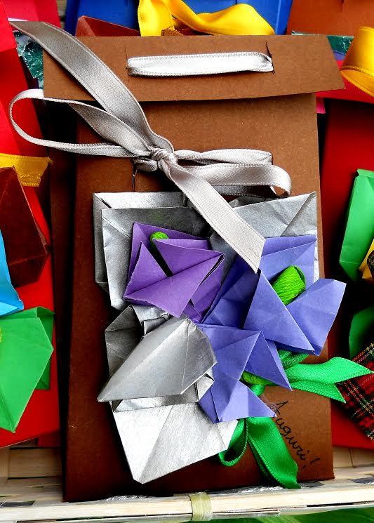 sacchetti con origami