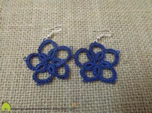 La foto del giorno: gli orecchini all'uncinetto di Cristina