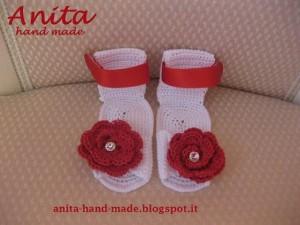 La foto del giorno: le scarpette in cotone di Anita