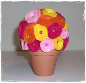 La foto del giorno: il vaso fiorito di Sara
