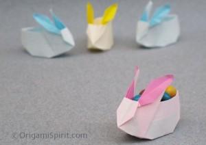 La foto del giorno:  coniglietti ad origami