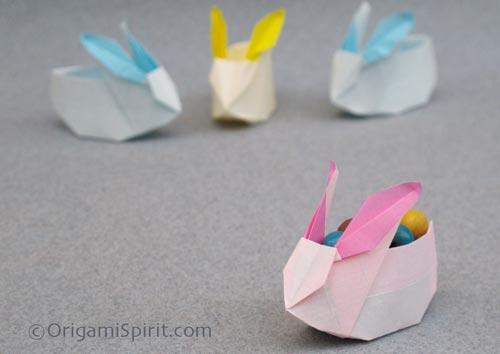coniglietti origami