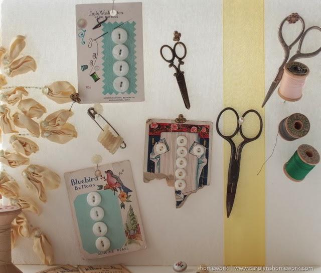 pannello porta oggetti vintage