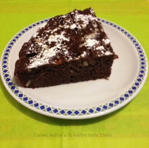 torta cioccolato mele pinoli