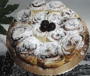 torta di rose marmellata e mandorle
