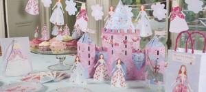 Una festa di compleanno per vere principesse