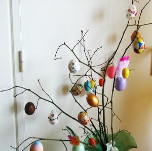 La foto del giorno: l'albero di Pasqua di Brigitte