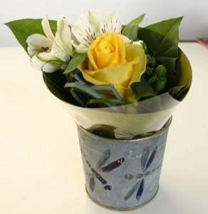La foto del giorno: il bouquet di Brigitte