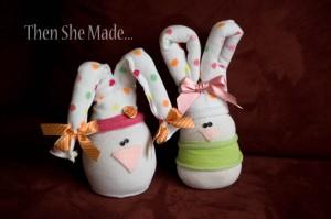 La foto del giorno: i conigli di calzini