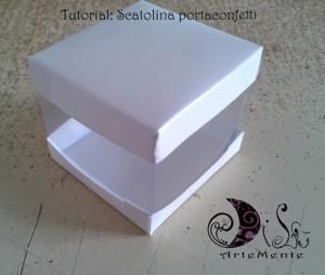 Il tutorial del giorno: come costruire una scatola porta confetti