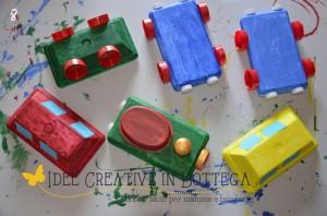 Il tutorial del giorno: il trenino con le scatole del gelato