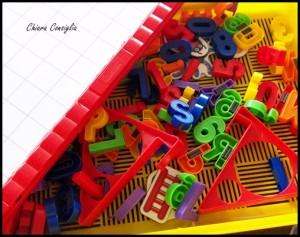 Ci prepariamo alla scuola con il Magnetino Letters della Quercetti