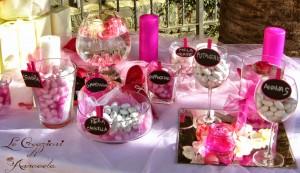 La foto del giorno: il tavolo per la confettata allestito da Anna