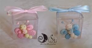 La foto del giorno: scatolina portaconfetti con farfallina di Dilù