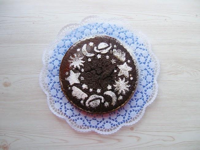 Le ricette di Cortilia: Torta al cioccolato senza uova e burro