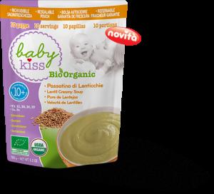 Baby Kiss: alimenti biologici per lo svezzamento