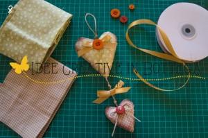 Il tutorial del giorno: fuoriporta con i cuori di stoffa