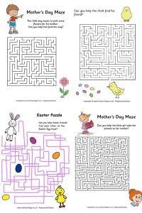 Labirinti per bambini pronti da stampare