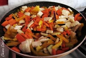 Il pasticcio di verdure con #lebeurremoulle