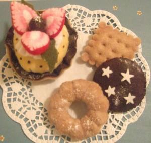 La foto del giorno: dolcetti in pannolenci