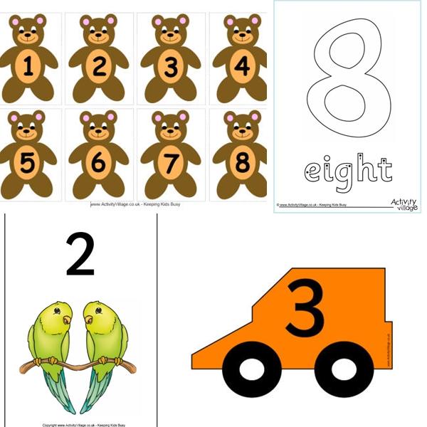 collage numeri