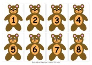 Numeri per giocare da colorare e stampare