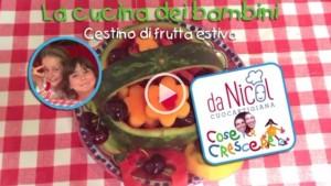 Video ricetta: cestino di frutta fresca
