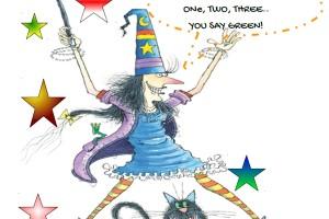Scrivi, canta e recita con Winnie the Witch