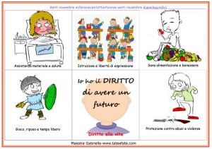 Percorso didattico: I diritti dei bambini #maestragabriella