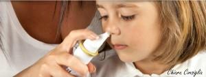 Il lavaggio nasale nei bambini