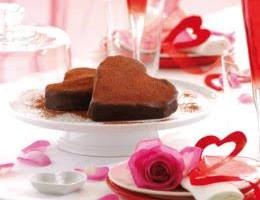 Cuore di cioccolato senza glutine