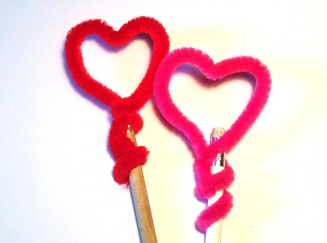 matita con il cuore